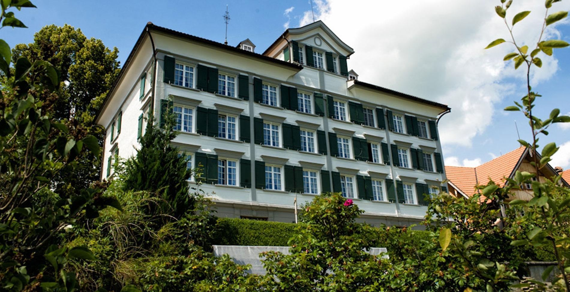 Perspektive Speicher Gemeindehaus Speicher Detail